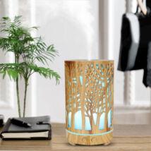 ZEN - világos áttört fa  hidegpárásító készülék (100 ml)
