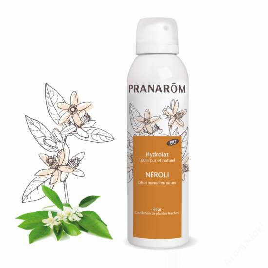 Neroli aromavíz, hidrolátum a száraz bőrre