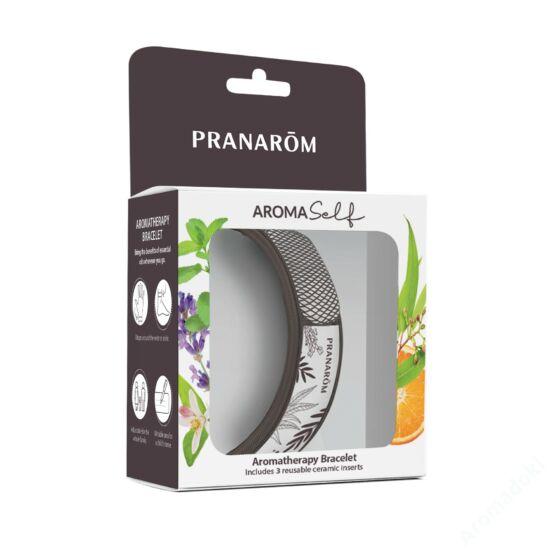 Aromaterápiás karkötö illatkővel