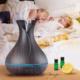 Fekete tulipán - sötét fa-mintázatú  aroma diffúzor (400 ml)